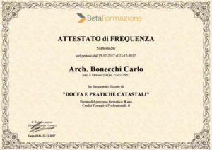 studio architettura a Abbiategrasso Bonecchi Carlo docfa e pratiche catastali