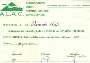 studio architettura Abbiategrasso Bonecchi Carlo, corso amministratore condominio